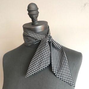 Houndstooth Silk Neck Tie